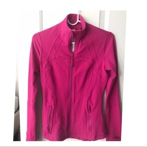 Lululemon Track ZIP Up Jacket Pink